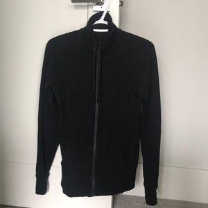 Black Sz 4 Lululemon Zip-up Sweatshirt